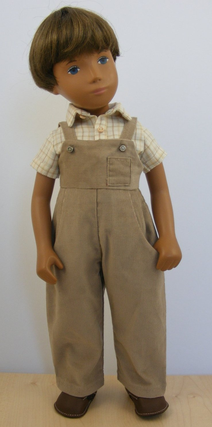 Sasha Doll GREGOR CORD DUNGAREES OUTFIT